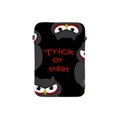 Trick Or Treat   Owls Apple Ipad Mini Protective Soft Cases by Valentinaart