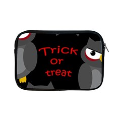 Trick Or Treat   Owls Apple Ipad Mini Zipper Cases by Valentinaart