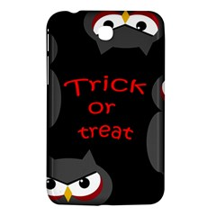 Trick Or Treat   Owls Samsung Galaxy Tab 3 (7 ) P3200 Hardshell Case  by Valentinaart
