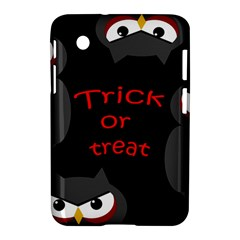 Trick Or Treat   Owls Samsung Galaxy Tab 2 (7 ) P3100 Hardshell Case  by Valentinaart