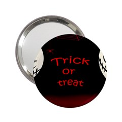 Trick Or Treat 2 2 25  Handbag Mirrors by Valentinaart