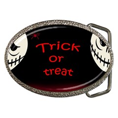 Trick Or Treat 2 Belt Buckles by Valentinaart