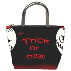 Trick Or Treat 2 Bucket Bags by Valentinaart