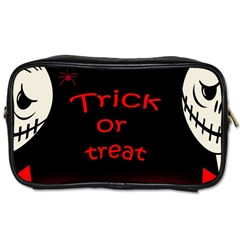 Trick Or Treat 2 Toiletries Bags by Valentinaart