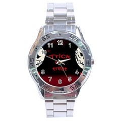 Trick Or Treat 2 Stainless Steel Analogue Watch by Valentinaart