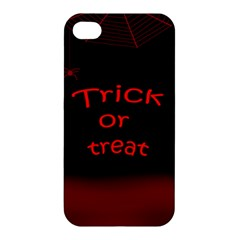 Trick Or Treat 2 Apple Iphone 4/4s Hardshell Case by Valentinaart