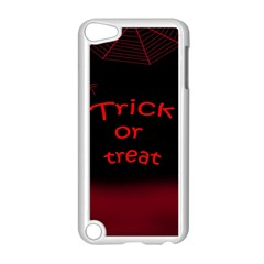 Trick Or Treat 2 Apple Ipod Touch 5 Case (white) by Valentinaart