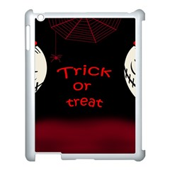Trick Or Treat 2 Apple Ipad 3/4 Case (white) by Valentinaart