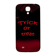 Trick Or Treat 2 Samsung Galaxy S4 I9500/i9505  Hardshell Back Case by Valentinaart