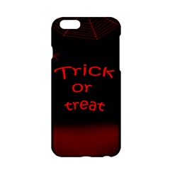 Trick Or Treat 2 Apple Iphone 6/6s Hardshell Case by Valentinaart