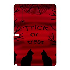 Trick Or Treat   Black Cat Samsung Galaxy Tab Pro 10 1 Hardshell Case