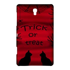 Trick Or Treat   Black Cat Samsung Galaxy Tab S (8 4 ) Hardshell Case