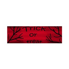 Trick Or Treat   Black Cat Satin Scarf (oblong) by Valentinaart