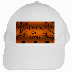 Trick Or Treat   Cemetery  White Cap by Valentinaart