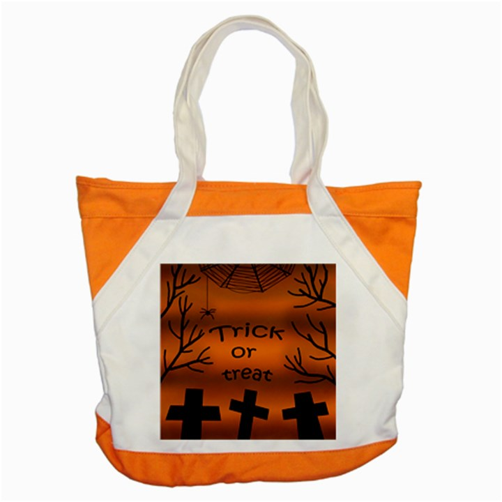 Trick or treat - cemetery  Accent Tote Bag
