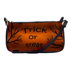 Trick Or Treat   Cemetery  Shoulder Clutch Bags by Valentinaart