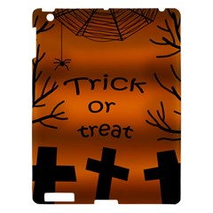 Trick Or Treat   Cemetery  Apple Ipad 3/4 Hardshell Case