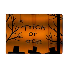 Trick Or Treat   Cemetery  Apple Ipad Mini Flip Case by Valentinaart
