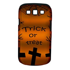 Trick Or Treat   Cemetery  Samsung Galaxy S Iii Classic Hardshell Case (pc+silicone) by Valentinaart