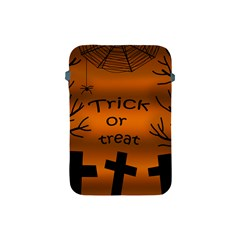 Trick Or Treat   Cemetery  Apple Ipad Mini Protective Soft Cases by Valentinaart