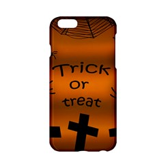 Trick Or Treat   Cemetery  Apple Iphone 6/6s Hardshell Case by Valentinaart