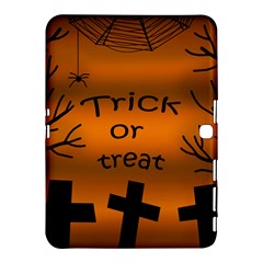 Trick Or Treat   Cemetery  Samsung Galaxy Tab 4 (10 1 ) Hardshell Case  by Valentinaart