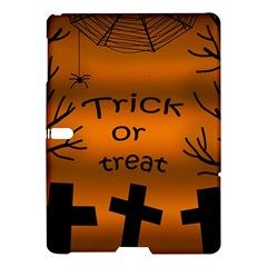 Trick Or Treat   Cemetery  Samsung Galaxy Tab S (10 5 ) Hardshell Case  by Valentinaart