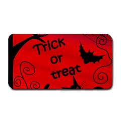 Trick Or Treat   Halloween Landscape Medium Bar Mats by Valentinaart
