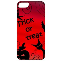 Trick Or Treat   Halloween Landscape Apple Iphone 5 Classic Hardshell Case by Valentinaart