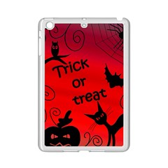 Trick Or Treat   Halloween Landscape Ipad Mini 2 Enamel Coated Cases by Valentinaart