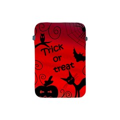Trick Or Treat   Halloween Landscape Apple Ipad Mini Protective Soft Cases by Valentinaart