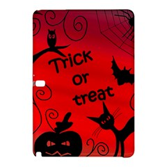 Trick Or Treat   Halloween Landscape Samsung Galaxy Tab Pro 10 1 Hardshell Case by Valentinaart