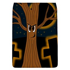 Halloween   Cemetery Evil Tree Flap Covers (s)  by Valentinaart