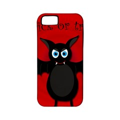 Halloween Bat Apple Iphone 5 Classic Hardshell Case (pc+silicone) by Valentinaart