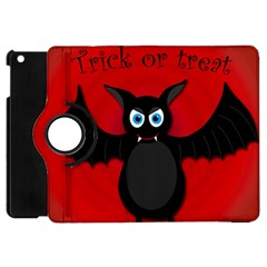 Halloween Bat Apple Ipad Mini Flip 360 Case by Valentinaart
