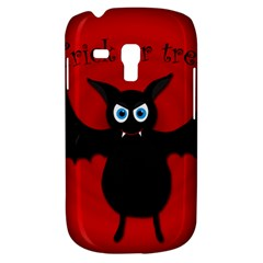 Halloween Bat Samsung Galaxy S3 Mini I8190 Hardshell Case by Valentinaart