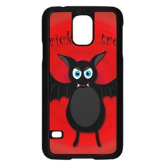 Halloween Bat Samsung Galaxy S5 Case (black) by Valentinaart
