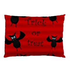 Halloween Bats  Pillow Case by Valentinaart