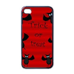 Halloween Bats  Apple Iphone 4 Case (black) by Valentinaart