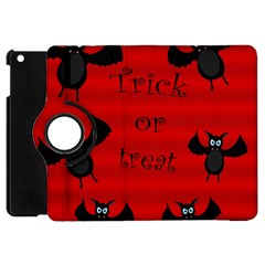 Halloween Bats  Apple Ipad Mini Flip 360 Case by Valentinaart