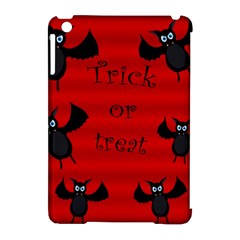 Halloween Bats  Apple Ipad Mini Hardshell Case (compatible With Smart Cover) by Valentinaart