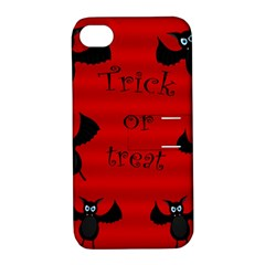Halloween Bats  Apple Iphone 4/4s Hardshell Case With Stand by Valentinaart