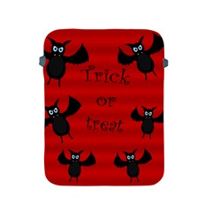 Halloween Bats  Apple Ipad 2/3/4 Protective Soft Cases by Valentinaart