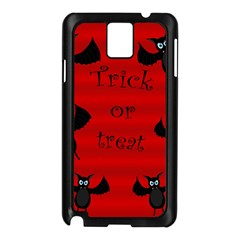 Halloween Bats  Samsung Galaxy Note 3 N9005 Case (black) by Valentinaart