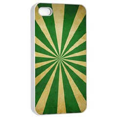 Colored Vintage Apple Iphone 4/4s Seamless Case (white)