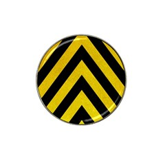 Construction Hazard Stripes Hat Clip Ball Marker (4 Pack)