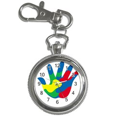 Creativity Painted Hand Copy Key Chain Watches by AnjaniArt