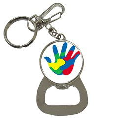 Creativity Painted Hand Copy Bottle Opener Key Chains by AnjaniArt