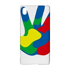 Creativity Painted Hand Copy Sony Xperia Z3+ by AnjaniArt