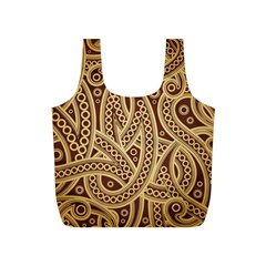 European Fine Pattern Full Print Recycle Bags (s)  by AnjaniArt